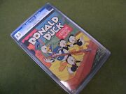 Four Color 108 Donald Duck In Terror Of The River Carl Barks Cgc 8.5 1946