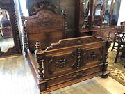 Antique Victorian Full Size Bed