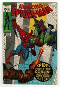 Amazing Spiderman 97 Drug Issue Not Approved By The Cca Green Goblin