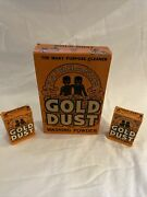 Fairbanks Gold Dust Washing Powder Unopened With Two Free Home Samples