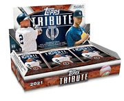 2021 Topps Tribute Baseball 2 Hobby Boxes 6 Autos And 6 Relics. Free Shipping
