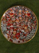 Cats Easter Purrade And Santa Claws Heirloom Limited Edition Plates By Bill Bell