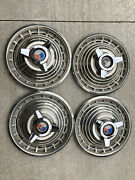 1963 Ford Galaxie Hubcaps 1964 14 Inch 1965 1967 Impala 1961 Mustang