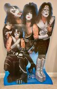 Vintage Kiss 1999 Life Size Cardboard Cutout Standup Standee Never Displayed