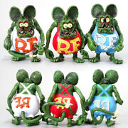 Rat Fink Pvc Action Figure Toy Collection Model Doll Decor Kids Best Xmas Gift