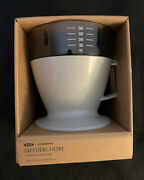 Starbucks-oxo Single Serve Auto-drip Pour-over Coffee Maker With Water Tank