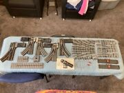 Loose Lot Miscellaneous Lionel And Railking Assorted O Scale Track Rr
