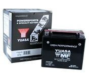 Yuasa Ytx20h-bs Arctic Cat M 7 And03905-and03906 Agm High Performance 12 Volt Battery