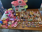 Huge Littlest Pet Shop Lot 135+ Pets Tons Of Accessories And Playhouse