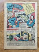 Superboy 68 October 1958 1st Appearance Bizzaro Origin Story No Cover Coverless