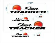 Sun Tracker Boat Emblem 37 Plus + Free Fast Delivery Dhl Express - Raised Decal