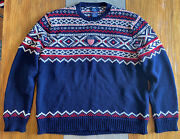 Polo Olympic Sweater Team Usa Official Ceremony Winter Vintage