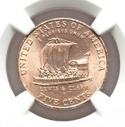 2004-p Error Nickel Ngc Ms64 Improperly Annealed Planchet Keelboat See Pictures