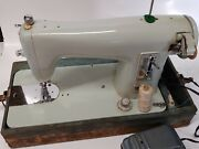 Vintage Brother Opus Sewing Machine 1351 With Cover Working With Test Video