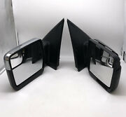 Ford F150 Both Left And Right Side Rear View Electric Mirror Oem P415 Truck Parts
