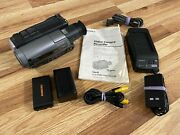 Sony Handycam Ccd-tr96 8mm Video8 Analog Camcorder Video Tape Play Transfer