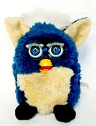 Furby 1998 Dragon Original Generation 4 Teal And Yellow Vintage Works