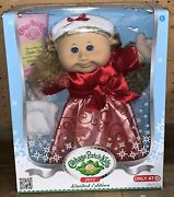 Cabbage Patch Kids Doll Blonde 2012 Limited Edition Jordan Zoe September 19th