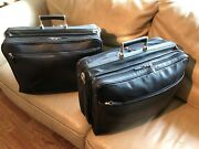 Over 75 Off Two Original Offermann Leather Carry-on / Overnight Bags Andndash Rare
