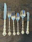 Tara By Reed And Barton Sterling Flatware Set 4 Settings 6 Pieces Per Setting