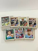 Huge Lot Of 1988 Tops Baseball Cards Almost 2 Pounds Of Cards