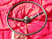 '55-56 Chevy 210 Model Steering Wheel W/ Cap And Horn Ring