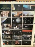 Star Wars 3d Widevision Trading Cards From Topps - Uncut Sheets