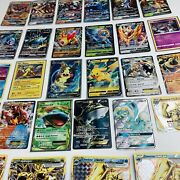 Pokemon Lot Of 25 Mixed Lot Gx Ex Full Art Cards Etc - All Moderately Played