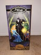 Disney Limited Edition Doll. Aurora And Maleficent. Case And Slip Only