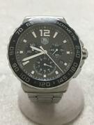 Tagheuer Quartz Gray Silver Cau1115 Stainless Silver Wrist Watch From Japan
