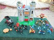 Vintage 1994 Fisher Price Great Adventures Castle Play Set 7110
