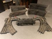 Vintage Lionel Model 042 Hand Operated Left And Right Switches240 Engine And 25 Pc