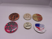 Vintage Pin Button Lot From The 60s And 70s Twa Getaway Vacations Airline