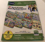 Vtech Touch And Learn Activity Desk Deluxe Expansion Pack - Making Math Easy