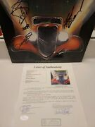 Autographed Zz Top Eliminator Album By All 3...jsa Full Letter/wow