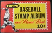 1962 Topps Baseball Stamp Album - Complete - All 200 Stamps - Amazing Must See