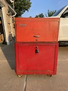 Snap-on Kr-56b 1959 Kr-350 1948 Bottom And Middle Tool Box Vintage Rolling Rare