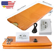 Far Infrared Thermal Body Slimming Sauna Blanket Heat Therapy Spa Weight Loss Ce