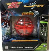 Air Hogs Atmosphere Rc Auto-hover Technology Flying Toy Helicopter Red New