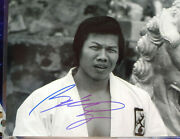 Bolo Yeung Hand Signed 8x10 Photo