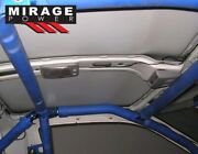 6-point Safety Anti Roll Cage Blue For 89 90 91 92 93 94 Nissan 240sx Hatchback