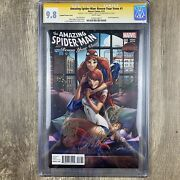 Amazing Spider-man Renew Your Vows 1 Cgc Ss 9.8 Campbell Slott Kubert Signed