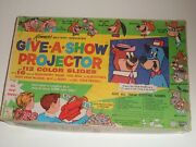 Kennerandrsquos Give A Show Projector 1962 Hanna-barbera In Box With Slides