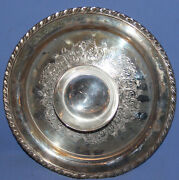 Wm. Rogers Silverplated Serving Tray With Attached Gravy Sauce Bowl