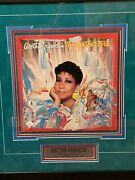Aretha Franklin Signed/autographed Framed Through The Storm Peter Max Album Jsa