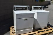 Vintage1970and039s Sears Lady Kenmore White Gas Dryer Washer Matching Set