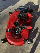 Craftsman Yt3000 42 Inch Complete Mower Mow Deck For Lawn Tractor Works Good