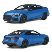 1/18 Gt Spirit Audi Rs 5 Coupe Turbo Blue 2020 New Box Free Shipping Home
