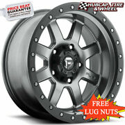 Fuel Offroad D552 Trophy Anthracite Gray 18x10 Custom Wheels Rims Set Of 4