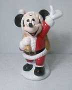 Schmid Mickey Mouse Ceramic Music Box The Walt Disney Co Musical Collectibles
